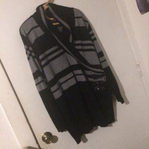 Black and Gray SayWhat Sweater